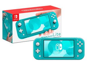 Consola Nintendo Switch Lite. Color Azul.