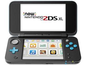 Consola Portátil Nintendo 2DS XL. Color Negro/Azul.