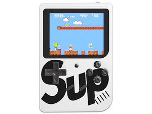 Mini Consola Portátil Sup Game Box, 400 juegos en 1, Recargable. Color Blanco.
