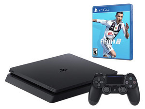 Consola Sony PlayStation 4 de 1 TB, incluye Fifa 2019.