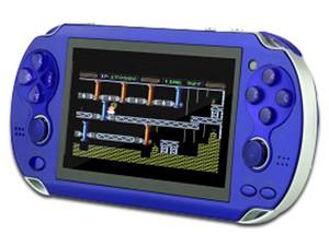 Consola de Videojuegos Stylos STRA3X2A con juegos incluidos, MP4, MP3, cámara, radio FM. Color Azul.
