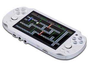 Consola de Videojuegos Stylos STRA3X2W con juegos incluidos, MP4, MP3, cámara, radio FM. Color Blanco.
