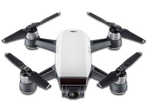 Drone DJI Spark Fly Combo, con batería de 1480 mAh y cámara HD, color Blanco.