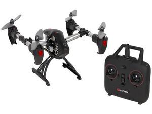 Mini Drone Evorok Eagle 360°, con batería de 520mAh, color negro.