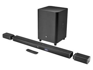 Barra de Sonido y Altavoces Inalámbricos JBL BAR 5.1, 510 W, Bluetooth, USB. Color Negro.