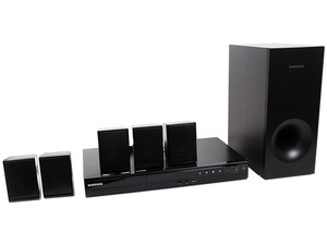 Home Theater Samsung, Audio 5.1, Dolby Digital, Reproductor de DVD, Karaoke,  USB, 330 Watts.