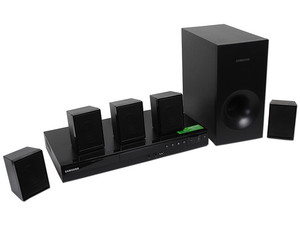 Home Theater Samsung, Audio 5.1, Dolby Digital, Reproductor de DVD, Radio, USB Recording, 330 Watts.