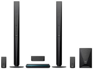 Home Theater Sony BDV-E4100 de audio 5.1, Reproductor de Blu-Ray 3D, HDMI, USB, Wi-Fi.