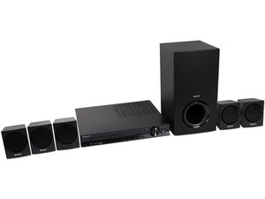 Home Theater Sony, Audio 5.1, Dolby Digital, Reproductor de DVD, HDMI, USB, 350 Watts.