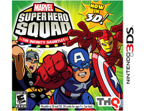 Marvel Super Hero Squad The Infinity of the Gauntlet 3D (3DS)