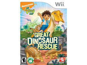 Go, Diego, Go!: Great Dinosaur Rescue (Wii)