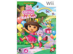 Dora the Explorer: Dora's Big Birthday Adventure (Wii)