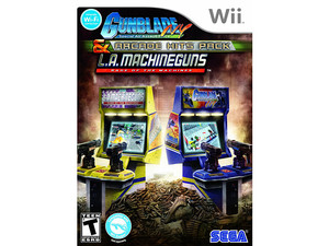 Gunblade NY: Special Air Assault Force and L.A Machineguns: Rage of the Machines - Arcade Hits Pack (Wii)