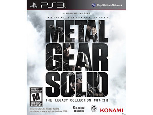 Metal Gear Solid: The Legacy Collection (PS3)