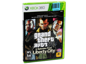 Grand Theft Auto IV & Episodes From Liberty City  The Complete Edition (Xbox 360)