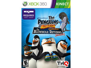 The Penguins of Madagascar: Dr. Blowhole Returns Again! (Xbox 360, requiere Kinect)