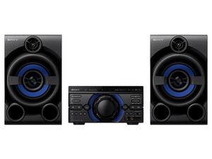 Minicomponente SONY MHC-M40D, DVD, CD, MP3, Radio, Grabación y Efectos de DJ.