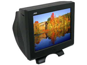 Monitor AOC de 17 Pulgadas, Color Negro