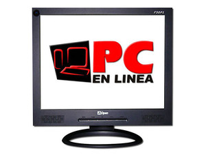 Monitor LCD AOpen F50PS de 15Pulg. Color Negro