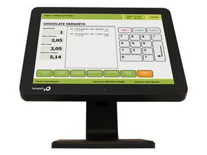 """Monitor Touch Punto de Venta Bematech LE1015-J de 15\"""", Resolución 1024 x 768, 12 ms."""