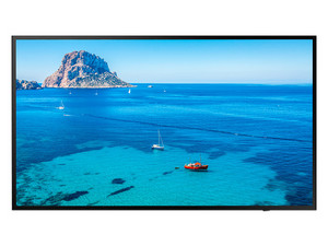 "Monitor LED Samsung SMART Signage FHD de 49\"", Resolución 1920 x 1080 (Full HD 1080p)."