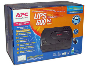 UPS APC BE600-LM BACK-UPS de 600VA