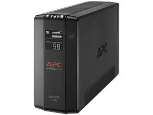Batería de Respaldo APC BX1000M-LM60 1,000VA/600Watts con 8 contactos, NEMA 5-15P, voltaje de entrada 120V.