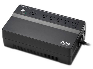 No Break APC Back-UPS 575  de 575VA/320W con 6 contactos.