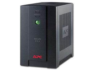 No Break APC Back-UPS 800 de 800VA/480W con 6 contactos.