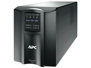 UPS APC Smart-UPS SMT1000 de 1000 VA (700 W) con 8 contactos.