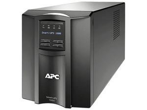 Bateria de respaldo APC Smart-UPS SMT1000C de 1000VA/700W con 8 contactos NEMA 5-15R, SmartSlot, USB, 120V.