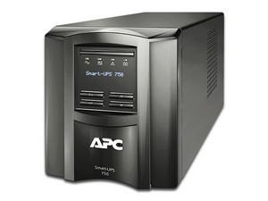 Batería de respaldo APC Smart-UPS SMT750C de 750 VA (500 W), con monitoreo remoto SmartConnect, 6 Contactos.