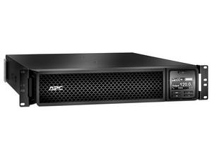 UPS APC Smart-UPS SRT1500RMXLA de 1500VA (1350W), 6 contactos, RJ45, serie, Smart-Slot y USB. Color negro.