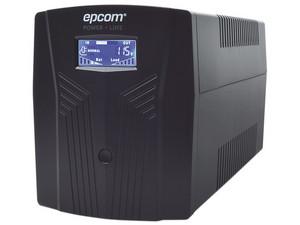 UPS No-Break Epcom de 1500VA/900W con 6 contactos NEMA 5-15R.