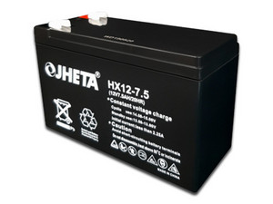 Batería para UPS Jheta (621207-50) de 12V/7.5Ah . Color Negro.