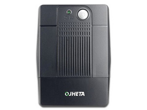 No-Break Jheta UPS 821750-01 de 750VA/375 Watts con 6 contactos.
