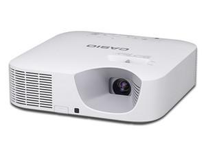 Proyector Casio XJ-F21XN, resolución 1024 x 768, contraste 20,000:1, 3300 ANSI-Lumens.