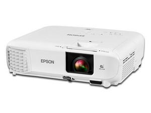 Proyector Epson PowerLite E20, resolución de 1024 x 768, Contraste 15,000:1 y 3400 ANSI-Lumens. Incluye Presentador Nextep NE-420