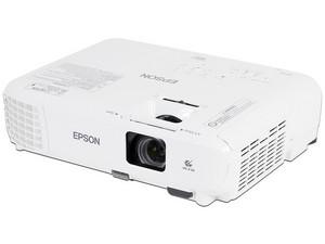 Proyector Epson Power Lite W05+, resolución de 1280 x 800, Contraste 15,000:1 y 3,300 Lumens.