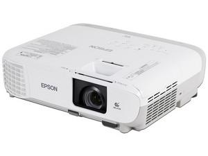Proyector Epson PowerLite W39 WXGA 3LCD, resolución de 1280 x 800, Contraste 15,000:1 y 3,500 ANSI-Lumens.