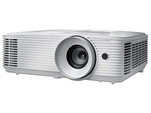 Proyector OPTOMA, resolución de 3840 x 2160 (4K UHD), Contraste 50,000:1 y 3,400 ANSI-Lumens.