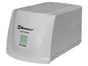 Regulador Koblenz 2000VA/800W con 8 contactos. Color Blanco.