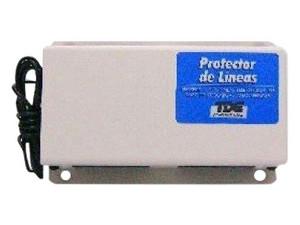Protector TDE para 6 Líneas Telefónicas. Color Blanco.
