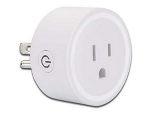 Clavija inteligente Vica Mini Smart Wi-Fi , soporta hasta 1O A. Color Blanco.