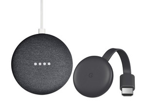 Google Smart TV Kit de Tercera Generación (Incluye Google Chromecast y Google Home mini).