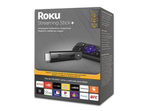 Reproductor de Streaming multimedia Roku Stick+, 4K, HDMI.
