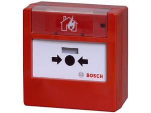 Pulsador Bosch FMC-300RW-GSRRD para activación de alarmas.