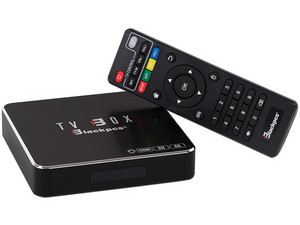 TV Box Blackpcs con Android 4.4 (Convierte tu TV convencional en Smart TV).