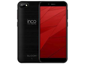 "Smartphone Inco Bloom 4: MTK6580M Quad-Core (1.3 GHz), Memoria RAM de 2GB, Almacenamiento de 16GB, Pantalla 5\"" 1280 x 720, Wi-Fi, 4G, Android 8.1. Color Negro."
