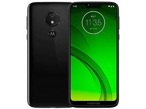 """Smartphone Motorola Moto G7 Power: Procesador Snapdragon 632 (1.8 GHz), Memoria RAM de 3GB, Almacenamiento de 32GB, Pantalla de 6.2\"""" HD+, Wi-Fi, Bluetooth 4.2, 4G, Android 9, Color Negro."""